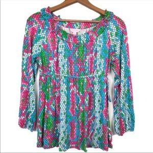 Lilly Pulitzer Colorful Blouse